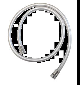 Brausezubehör Easyflex Kunststoffschlauch in Silberoptik 1250 mm