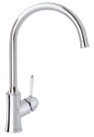 Damixa Tradition kitchen mixer in the surface chrome