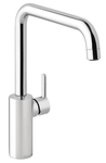 Classic one-grip danish designed kitchen mixer in chrome