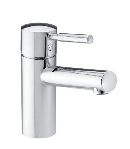 Merkur Basin Mixer with pop up waste