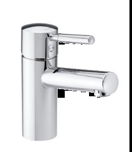 Merkur Tvättställsblandare med Pop-up bottenventil
