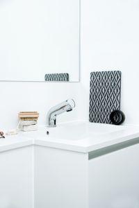 Free Tvättställsblandare Tronic med temperaturvred