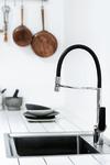 Deutsche designed Damixa Slate pro kitchen mixer