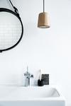 Tvättställs- och bidéblandare med Pop-up bottenventil