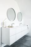 Miljøbillede af dansk designet A-pex vandhane