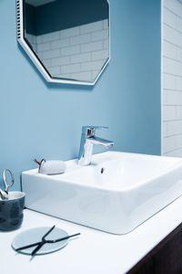 Clover Green Håndvaskarmatur med bundventil