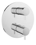 Rozeta maskująca podtynkowej baterii termostatycznej