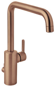 Silhouet Kitchen Mixer with Dishwasher Shut off valve (Brushed Copper PVD)