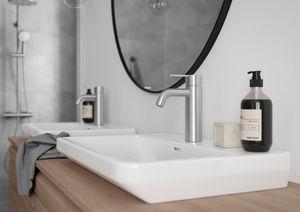 Silhouet Håndvaskarmatur - Medium (Steel PVD)