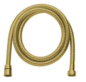 Shower Accessories Shower Hose Metal 1750 mm (Brushed Brass PVD)