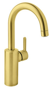 Silhouet Basin mixer with high spout (Brushed Brass PVD)