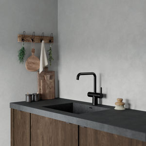 Silhouet Touchless kitchen tap (Matt black)