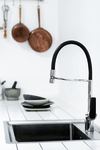 Deutsche designed Damixa Slate pro kitchen mixer