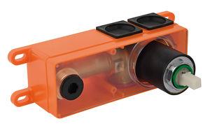 Armatura podtynkowa Skrzynka podtynkowa baterii umywalkowej (Matowa czerń )